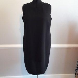 Dresses & Skirts - Studio I Black career midi dress.